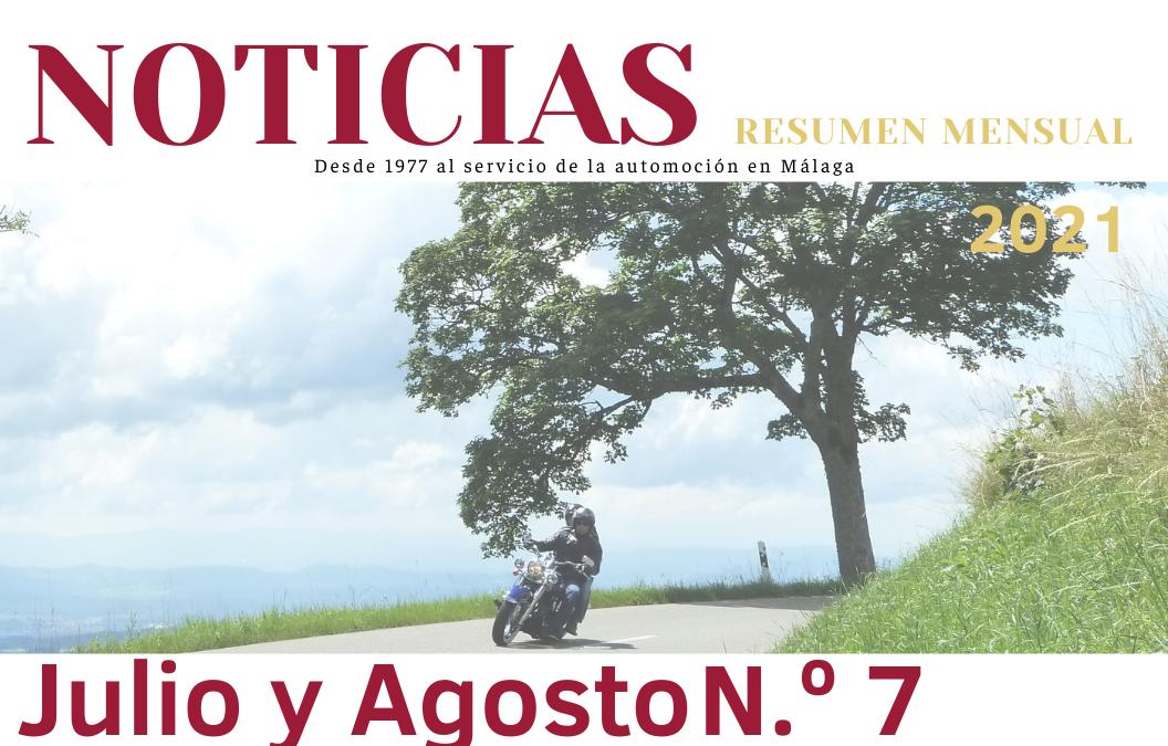Revista Mensual N.º 7 – Julio y Agosto